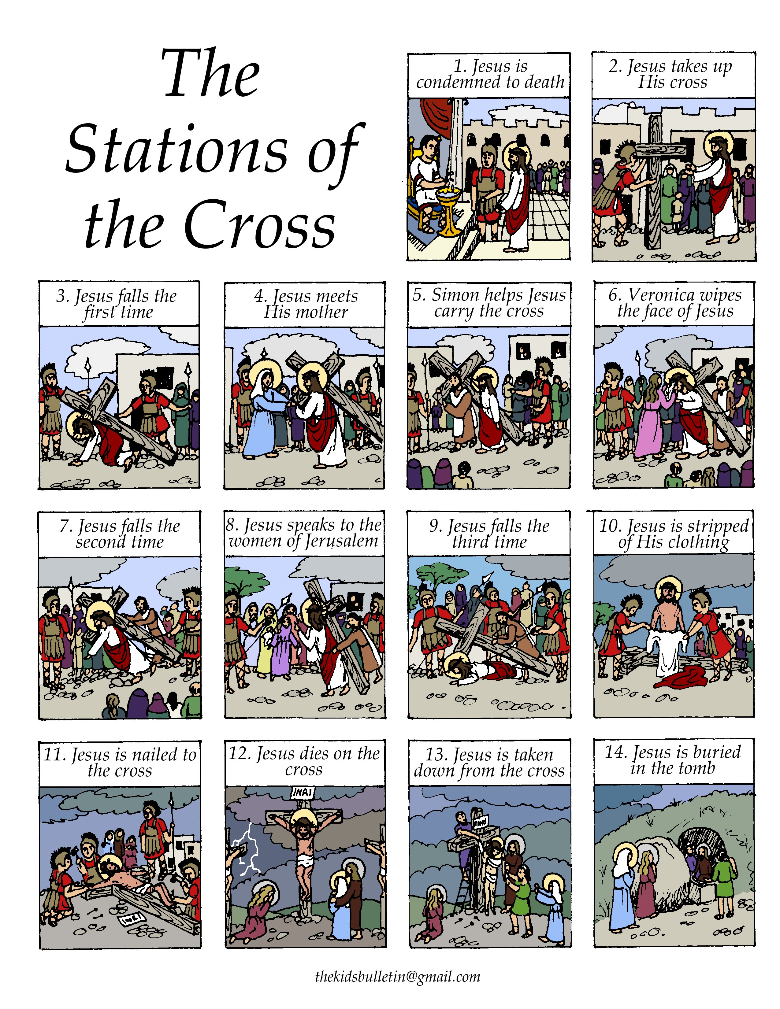 picture relating to Stations of the Cross Prayers Printable identify Stations Of The Cross - Courses - Tes Train