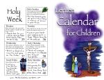 Lent Calendar Part I