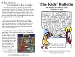 The Kids' Bulletin 4th Sunday