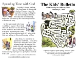 The Kids' Bulletin 5th Sunday