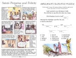 The Kids' Bulletin Lent 2 inside