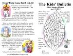 The Kids' Bulletin Easter 3