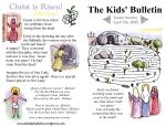 The Kids' Bulletin Easter