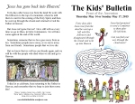 The Kids' Bulletin Ascension