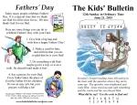 The Kids' Bulletin 12th Sunday
