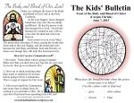 The Kids' Bulletin for Corpus Christi 2015