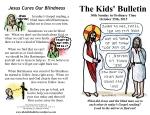 The Kids' Bulletin 30th Sunday