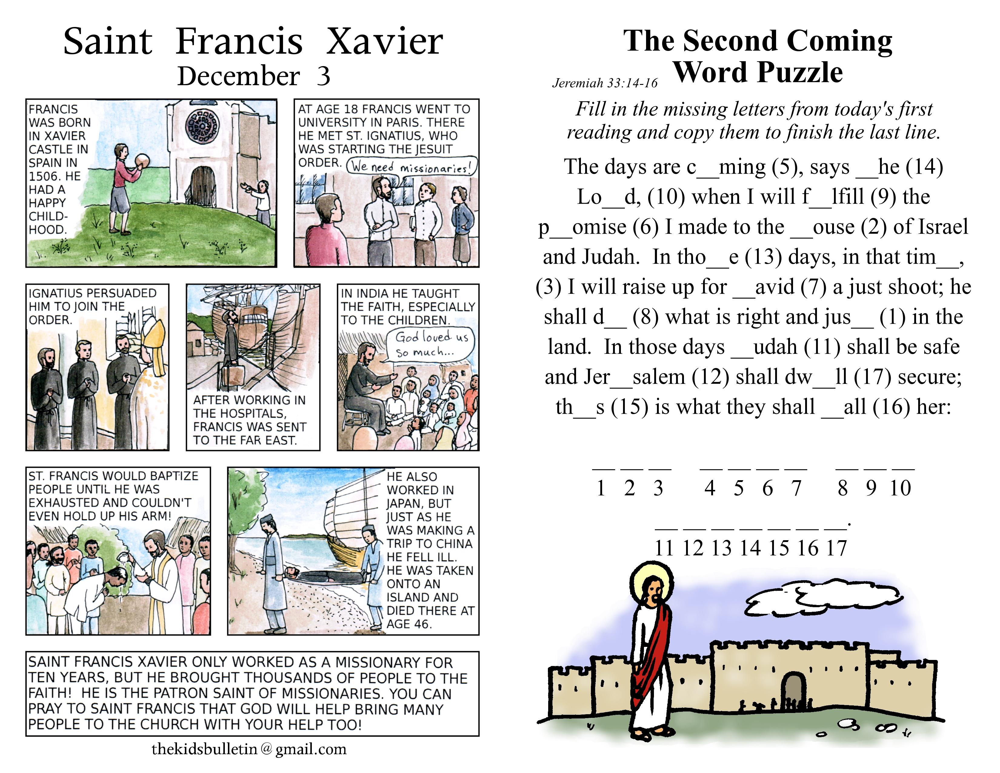 Advent | The Kids' Bulletin