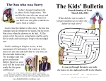 The Kids' Bulletin 4th Sunday of Lent