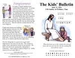 The Kids' Bulletin 11th Sunday