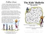 The Kids' Bulletin 13th Sunday