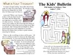 The Kids' Bulletin 19th Sunday