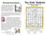 The Kids' Bulletin 21st Sunday