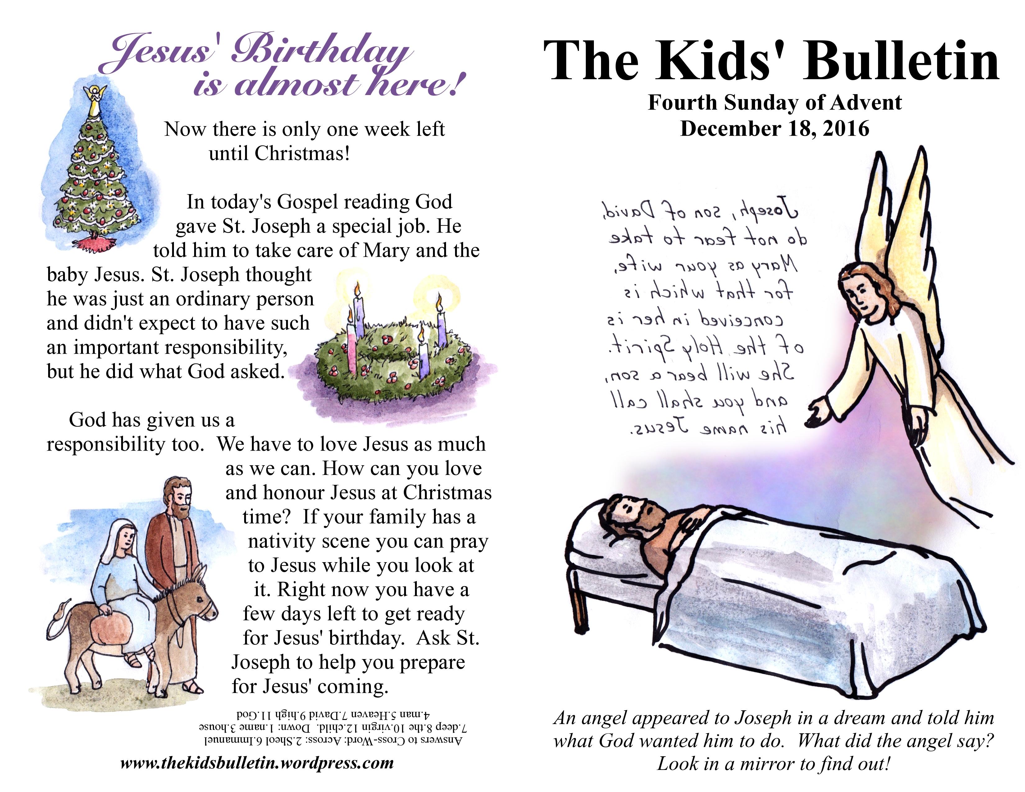 the-kids-bulletin-4th-sunday-of-advent   The Kids' Bulletin