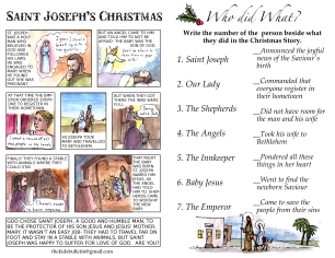 The Kids' Bulletin Christmas inside