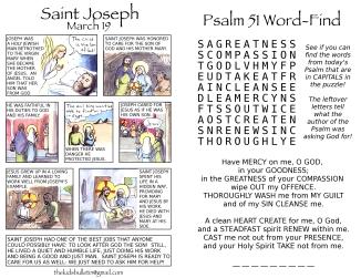The Kids' Bulletin Lent 5 inside