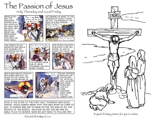 The Kids' Bulletin Passion Palm Sunday inside
