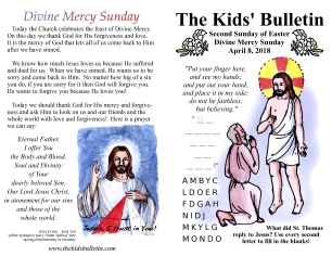The Kids' Bulletin Easter 2