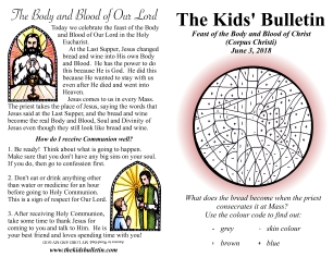 The Kids' Bulletin Corpus Christi