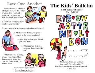 The Kids' Bulletin Easter 6