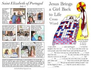 The Kids' Bulletin 13th Sunday inside