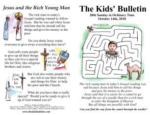 The Kids' Bulletin 28th Sunday