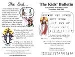 The Kids' Bulletin for Sunday November 18th, 2018