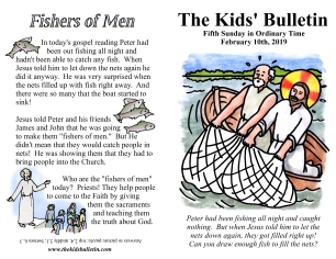 The Kids' Bulletin 5th Sunday