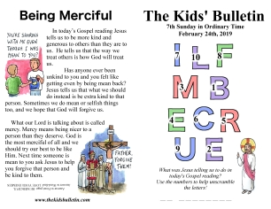 The Kids' Bulletin 7th Sunday