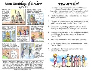 The Kids' Bulletin 5th Sunday of Lent inside