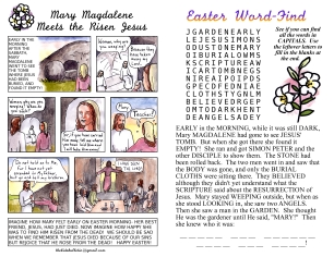 The Kids' Bulletin Easter Sunday inside