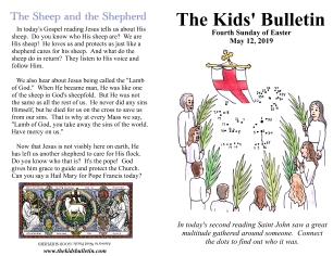 The Kids' Bulletin 4th Sunday of Easter
