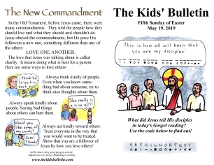 The Kids' Bulletin 5th Sunday of Easter