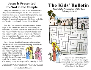 The Kids' Bulletin Presentation