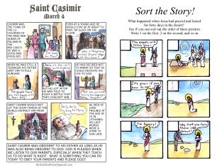 The Kids' Bulletin 1st Sunday of Lent inside