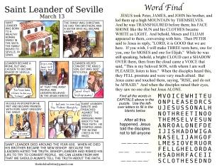 The Kids' Bulletin 2nd Sunday of Lent inside