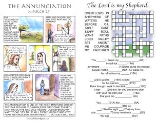 The Kids' Bulletin 4th Sunday of Lent inside