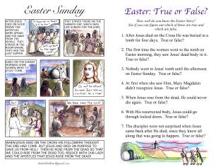 The Kids' Bulletin Easter inside
