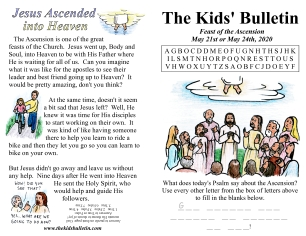 The Kids' Bulletin Ascension