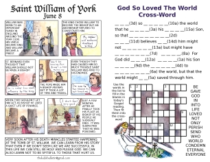 The Kids' Bulletin Trinity Sunday inside
